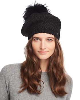 1b6cc6f16 Black Fur Hat - Bloomingdale's
