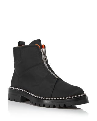 Women's Cooper Nylon Booties by Alexander Wang