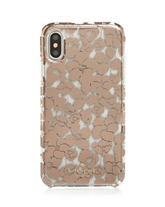 kate spade new york - Floret Clear iPhone X/XS/XS Max Case