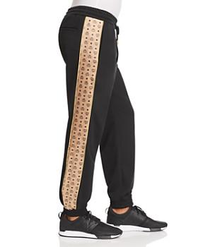 MCM - Logo-Stripe Sweatpants