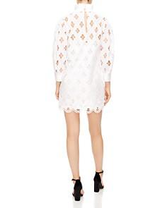 Sandro - Houle Embroidered Eyelet Mini Dress