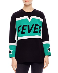 Sandro - Jasmin Fever Color-Blocked Sweater