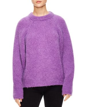 Sandro Brugane Oversized Sweater