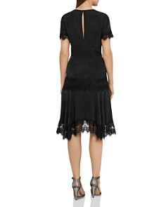 REISS - Kelis Lace-Trimmed Dress