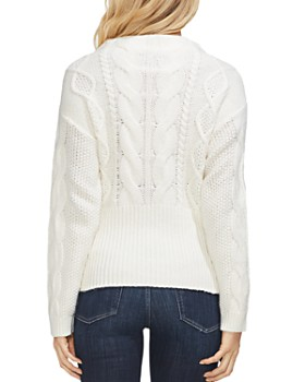 VINCE CAMUTO - Cable-Knit Sweater