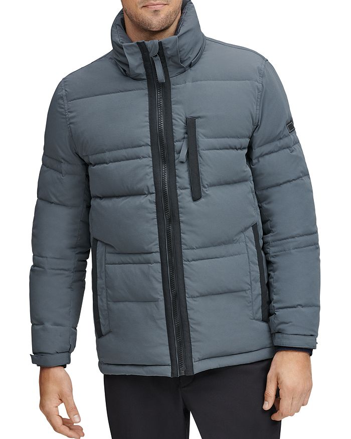 Marc New York - Huxley Removable-Hood Down Jacket