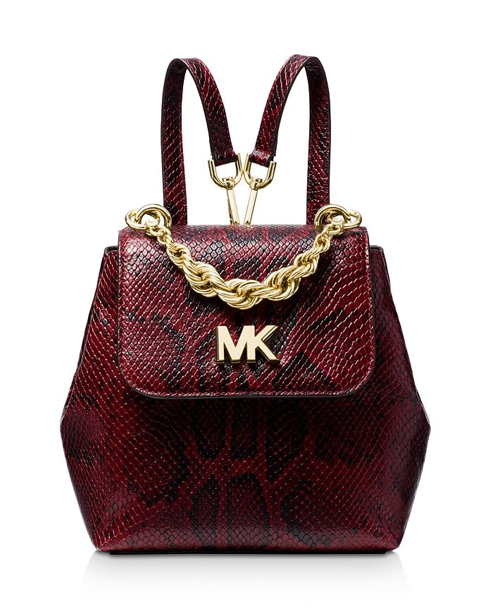 5d36cdb8560cde MICHAEL Michael Kors Mott Mini Twist Chain Messenger Backpack ...