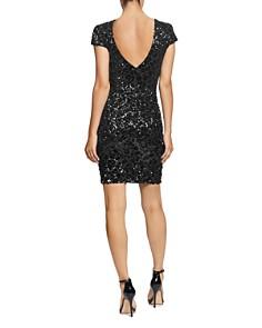 Dress the Population - Tabitha Sequin V Back Dress