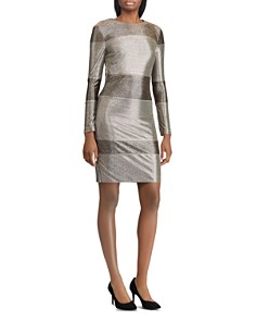 Ralph Lauren - Sequined Stripe Dress