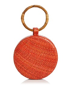 SERPUI - Serena Wicker Circle Bag