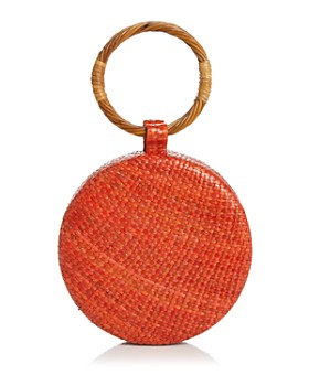 SERPUI - Serena Wicker Circle Bag