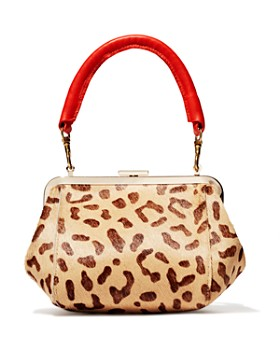 Clare V. - Le Box Bag in Leopard Print Calf Hair