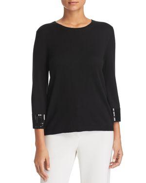 Le Gali Isabella Sequin-Cuff Sweater - 100% Exclusive