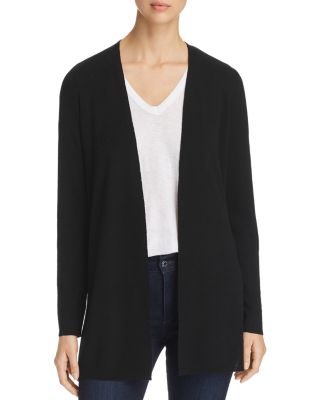 Merino Wool Open Front Cardigan by Eileen Fisher