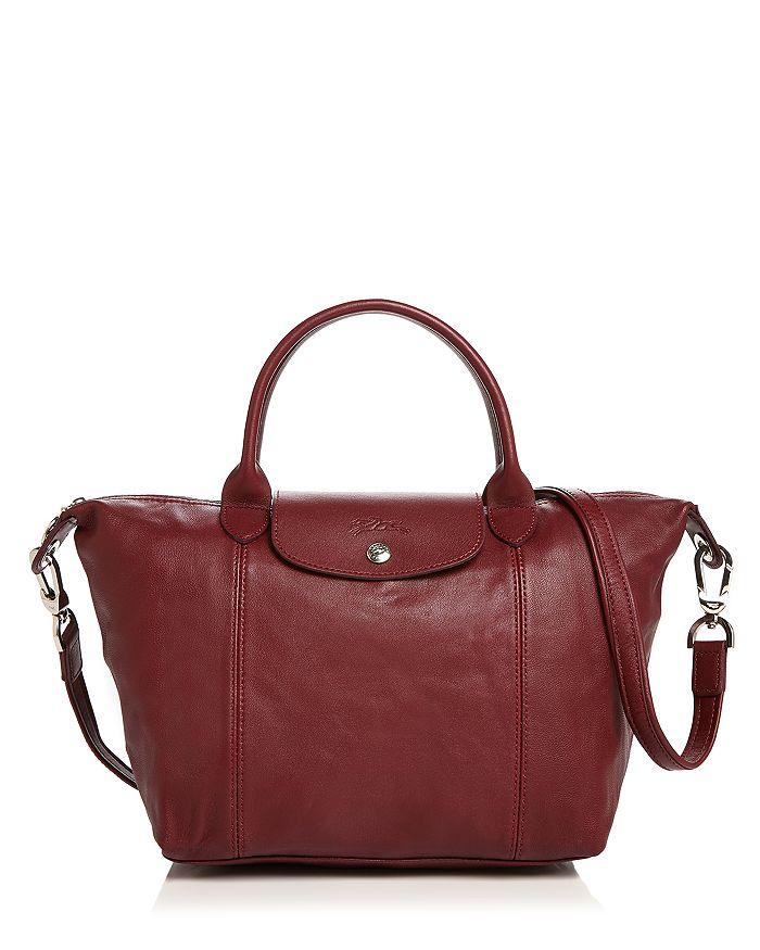 1c78d7a30a7 Longchamp Le Pliage Small Leather Satchel | Bloomingdale's