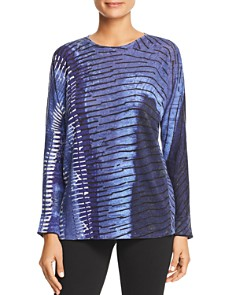 NIC and ZOE - New Leaf Printed Lightweight Sweater