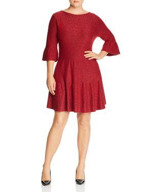 Nic+Zoe Plus Celestial Studded Sweater Dress