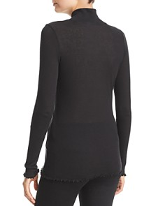 Michelle by Comune - Lilydale Mock-Neck Tee