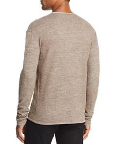 John Varvatos Collection - Marled Waffle-Knit Sweater