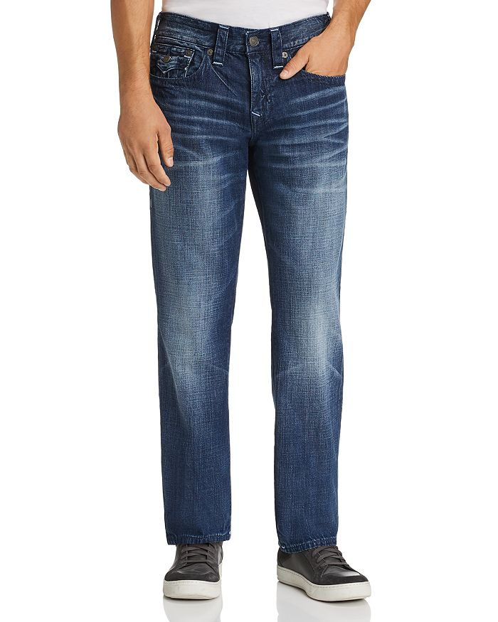 Ricky Relaxed Fit Jeans in Dark Cresent