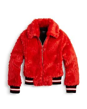 59215b8c5522 Girls Faux Fur Coat - Bloomingdale s