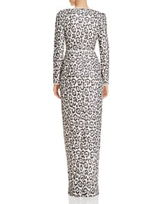 Rachel Zoe - Carey Sequined Leopard Gown