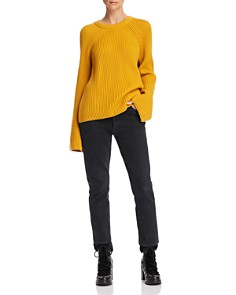 McQ Alexander McQueen - Lace-Up Detail Sweater