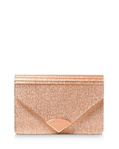 MICHAEL Michael Kors - Barbara Medium Glitter Envelope Clutch
