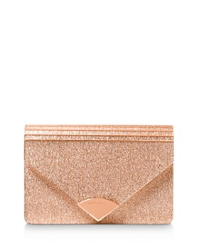 MICHAEL Michael Kors - Barbara Medium Glitter Envelope Clutch