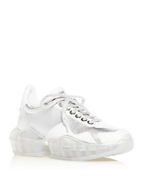 Jimmy Choo - Women's Diamond Low-Top Sneakers