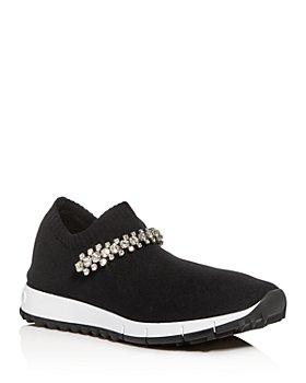 Jimmy Choo - Women's Verona Knit Slip-On Sneakers