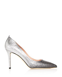 SJP by Sarah Jessica Parker - Women's Fawn Glitter Pointed-Toe Pumps