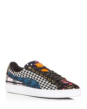PUMA - Men's Court Culture Mixed Pattern Low-Top Sneakers