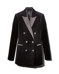 Theory - Velvet Tuxedo Jacket