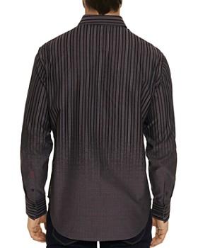 Robert Graham - Gordon Gradient-Pattern Jacquard Classic Fit Shirt