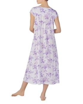Eileen West - Long V-Neck Cotton Nightgown