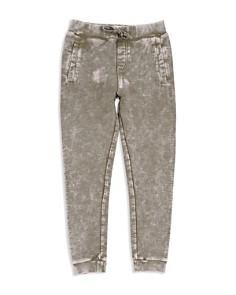 Butter - Boys' Mineral-Washed Fleece Jogger Pants - Big Kid