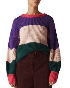 Whistles - Sophia Striped Sweater
