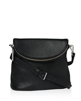 Whistles Victoria Mini Pebbled Leather Crossbody Bag