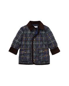 Ralph Lauren - Boys' Plaid Quilted Car Coat - Baby