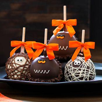 Mrs Prindables - Mummies & Monsters Caramel Apples, Pack of 4