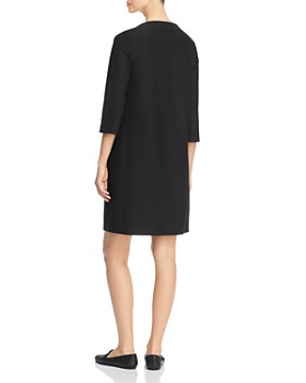 Eileen Fisher - Boat-Neck Shift Dress