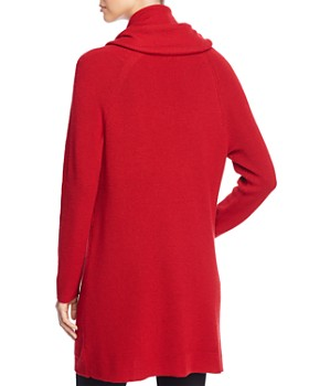 Eileen Fisher Petites - Cowl Neck Tunic Sweater