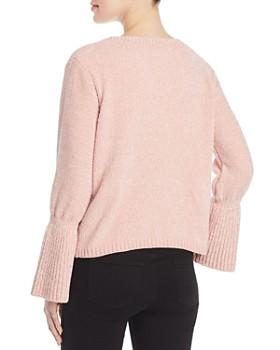 Elan - Chenille Bell-Sleeve Sweater