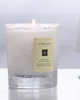 Jo Malone London - Peony & Blush Suede Home Candle with Lace Design - 100% Exclusive