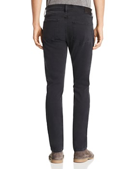 PAIGE - Federal Straight Slim Fit Jeans in Knoll