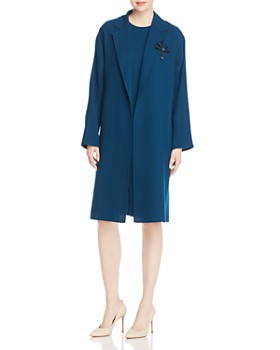 Lafayette 148 New York - Carmelina Long Open Front Jacket