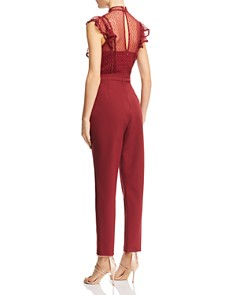 Adelyn Rae - Point D'esprit Jumpsuit