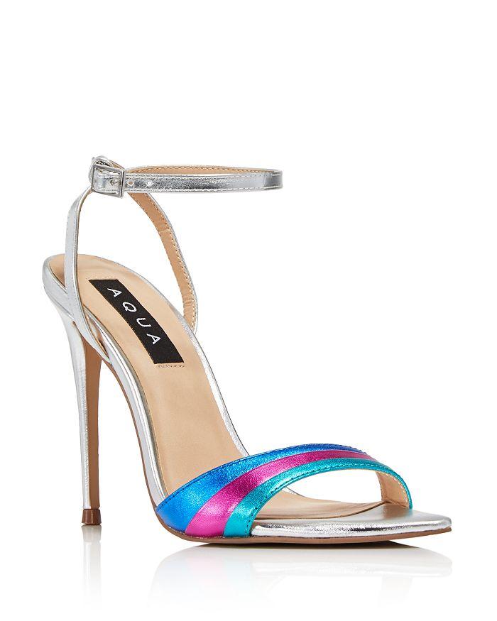2113623abecf AQUA Women s Kiki Rainbow High-Heel Sandals - 100% Exclusive ...