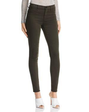 485 Super Skinny Luxe Sateen Jeans In Ivy Vine